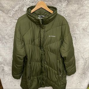 Columbia Womne's Long Puffer Jacket